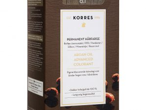 Korres Argan Oil Advanced Colorant Μόνιμη Βαφή Μαλλιών με Τεχνολογία Pigment-Lock που Κλειδώνει το Χρώμα 50ml – 6.1 ΞΑΝΘΟ ΣΚΟΥΡΟ ΣΑΝΤΡΕ
