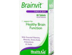 Health Aid Brainvit Ομαλή Ροή του Αίματος στον Εγκέφαλο 60tabs