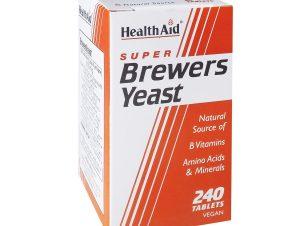 Health Aid Brewers Yeast Μαγιά Μπύρας 300mg – 240 tabs