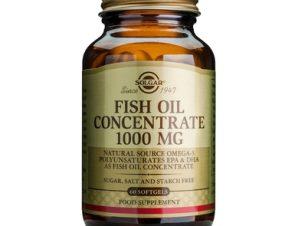 Solgar Fish Oil Concentrate 1000mg 60softgels