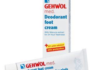 Gehwol Med Deodorant Foot Cream Αποσμητική Κρέμα Ποδιών – 75ml