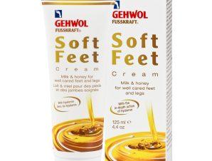 Gehwol Fusskraft Soft Feet Cream Κρέμα Ποδιών για Πέλματα και Γάμπες με Μέλι και Γάλα 125ml