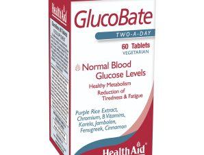 Health Aid GlucoBate Φυτική Φόρμουλα για το Διαβήτη 60tabs