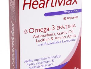 Health Aid HeartMax Συμπλήρωμα Διατροφής για Δυνατή Καρδιά, Καλό Κυκλοφορικό & Χαμηλή Χοληστερίνη 60caps