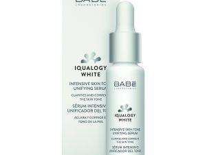 Babe Iqualogy White Intensive Skin Tone Unifying Serum Ορός Προσώπου Άμεσης Απορρόφησης που Διορθώνει τον Χρωματικό Τόνο 30ml