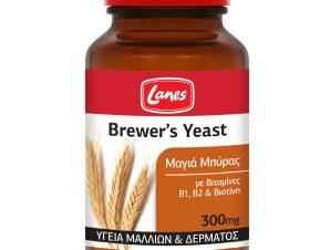 Lanes Brewer's Yeast 300mg Συμπλήρωμα Διατροφής Με Μαγιά Μπύρας Βιταμίνες Β1, Β2 & Βιοτίνη – 400 tabs