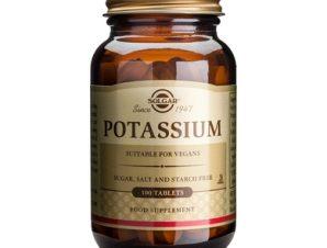 Solgar Potassium Gluconate 100 tabs