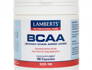 LAMBERTS BCAA-Branch Chain Amino Acids 180Caps 8332