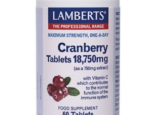 LAMBERTS Cranberry Tablets 18,750mg 60 Tabs