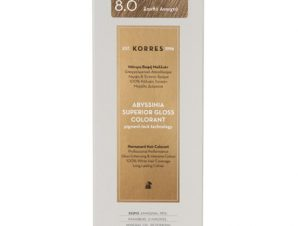 KORRES Abyssinia superior gloss colorant 8.0 Ξανθό Ανοιχτό 1,70Fl. Oz.50mL