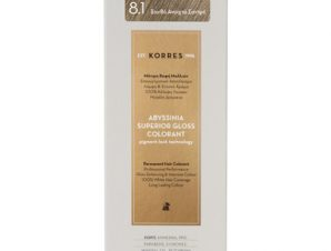 KORRES Abyssinia superior gloss colorant 8.1 Ξανθό Ανοιχτό Σαντρέ 1,70Fl. Oz.50mL