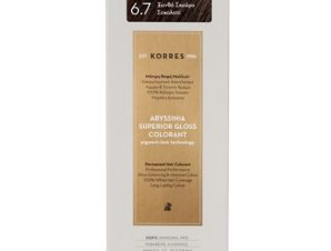 KORRES Abyssinia superior gloss colorant 6.7 Ξανθό Σκούρο Σοκολατί 1,70Fl. Oz.50mL
