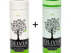 OLIVIA FUSION Fig Figue Shower gel 300ml & Fig Figue Body lotion 300ml