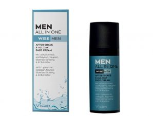 VICAN WISE MEN Men all in one after shave & all day cream 50ml