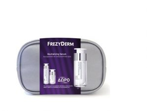 FREZYDERM Revitalizing Serum 30ml+ Night Force A+E 10ml + Eye Balm 5ml
