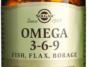 Solgar Omega 3-6-9 Μίγμα Ουσιωδών Λιπαρών Οξέων Υψηλής Βιολογικής Αξίας softgels – 120softgels