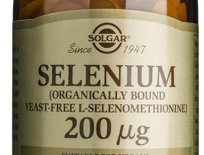 Solgar Selenium Συμπλήρωμα Διατροφής Κατάλληλο για τη Προστασία από Καρδιακές & Εκφυλιστικές Παθήσεις 200μg – 50 tabs