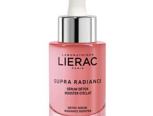 Lierac Supra Radiance Detox Serum Radiance Booster Ορός Αποτοξίνωσης Προσώπου, Booster Αντιγήρανσης & Λάμψης 30ml