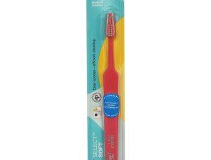 Tepe Select Soft Οδοντόβουρτσα Μαλακή για Αποτελεσματικό Καθαρισμό 1 Τεμάχιο – πορτοκαλί