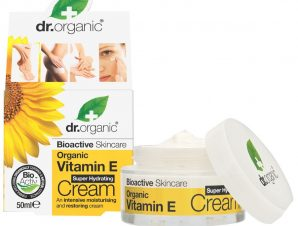 Dr Organic Organic Vitamin E Super Hydrating Cream Κρέμα Βαθιάς Ενυδάτωσης με Βιολογική Βιταμίνη E 50ml