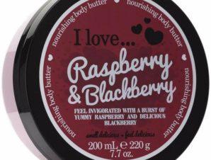 I love… Nourishing Body Butter Θρεπτικό Βούτυρο Σώματος 200ml – Raspberry & Blackberry