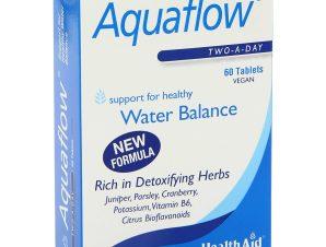 Health Aid Aquaflow Αποβολή των Τοξινών και Επιπλέον Υγρών 60tabs