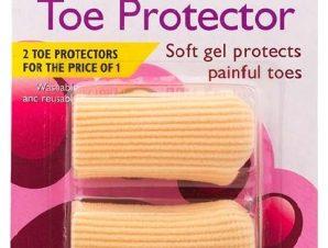 Vican Carnation Toe Protector Προστατευτικό Δακτύλων Πλήρως Επενδεδυμένο με Ενισχυμένο Polymer Gel για Μέγιστη Προστασία 2 τμχ