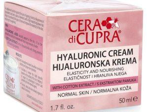 Cera di Cupra Hyaluronic Cream Normal Skin Κρέμα με Υαλουρονικό Οξύ για Ενυδάτωση, Προστασία και Θρέψη 50ml