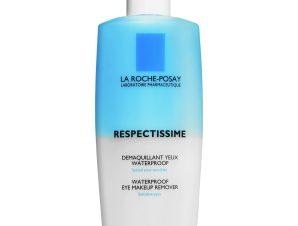 La Roche-Posay Respectissime Demaquillant Yeux Waterproof Λοσιόν για Αδιάβροχο Ντεμακιγιάζ Ματιών 125ml