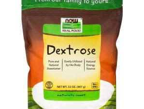 Now Foods Dextrose 100% Καθαρή Δεξτρόζη 907gr