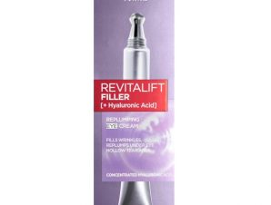 L'Oreal Paris Revitalift Filler [+Hyaluronic Acid] Συσφικτική Περιποίηση Ματιών για Επαναφορά Όγκου 15ml