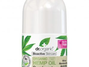 Dr. Organic Hemp Oil Deodorant Φυσικό Αποσμητικό Roll-on με Έλαιο Βετιβέριας & Πατσουλί 50ml