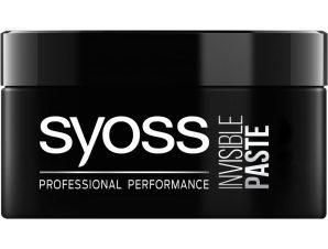 Syoss Paste Invisible Επαγγελματικός Πηλός Μαλλιών για 48ωρο Αόρατο Κράτημα & Styling Μεγάλης Διάρκειας 100ml