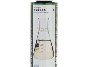 Korres Shampoo Κυστίνη & Ιχνοστοιχεία για την Ανδρική Τριχόπτωση 250ml