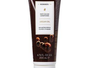 Korres Argan Oil Post-Colour Conditioner Μαλακτική Κρέμα για Μετά την Βαφή με Έλαιο Argan 200ml