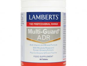 Lamberts Multi Guard ADR Πολυφόρμουλα Ενέργειας & Τόνωσης με Rhodiola ,Korean Ginseng ,Q10 & Ταυρίνη 60tabs