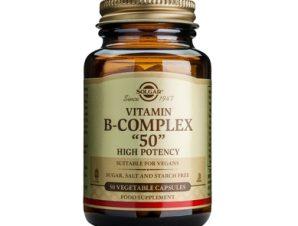 Solgar Formula B-Complex '50mg' veg.caps – 100 veg. caps