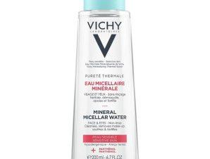 Vichy Purete Thermale Mineral Micellar Water για Πρόσωπο & Μάτια 200ml