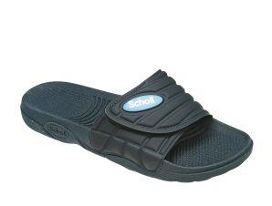 Scholl Shoes Nautilus Navy Blue Μπλε Ανδρικές Σαγιονάρες Χαρίζουν Σωστή Στάση & Φυσικό Χωρίς Πόνο Βάδισμα 1 Ζευγάρι – 45