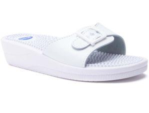 Scholl Shoes New Massage F20054106 White 1 Ζευγάρι – 39