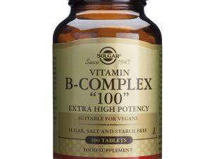 Solgar Formula B- Complex 100mg veg.caps – 100 veg. caps