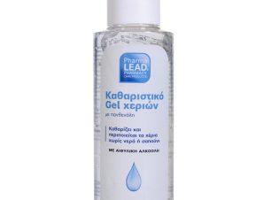 Pharmalead Αντισηπτικό – Καθαριστικό Gel Χεριών με Πανθενόλη Χωρίς Άρωμα & Χρώμα 100ml