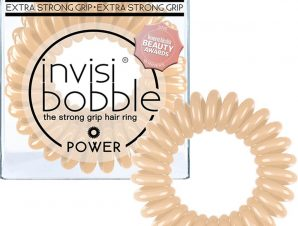 Invisibobble Power to be or Nude to be Λαστιχάκι Μαλλιών 3 Τεμάχια