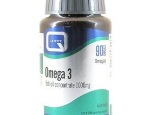 Quest Omega 3 Fish Oil Concentrate 1000mg 90 caps