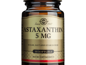 Solgar Astaxanthin 5mg Συμπλήρωμα Διατροφής Φυσικό Καροτινοειδές με Πολύ Υψηλή Αντιοξειδωτική Δράση 30softgels