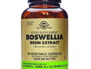 Solgar Sfp Boswellia Resin Extract Συμπλήρωμα Διατροφής Με Αντιαρθριτικές & Αντιφλεγμονώδεις Ιδιότητες 60veg.caps