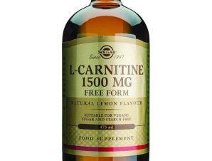 Solgar L-Carnitine 1500mg Liquid Συμπλήρωμα Διατροφής για Μεγαλύτερη Αντοχή & Καλύτερες Αθλητικές Επιδόσεις 473ml