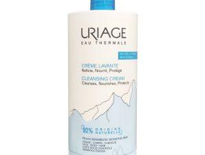 Uriage Eau Thermale Cleansing Cream Κρεμώδης και Ελαφριά Βάση Καθαρισμού 1000ml