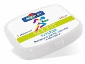 Master Aid Sport Walker Αυτοκόλλητο Υδροκολοειδές Επίθεμα Πόδι 5τεμ.